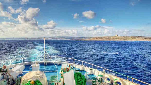 Sul traghetto verso Gozo (foto di Malta Tourism Authority)